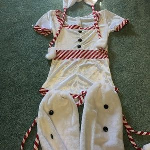 Snow girl costume size small